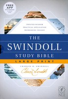 NLT: Swindoll Study Bible, Large Print (Hardcover)