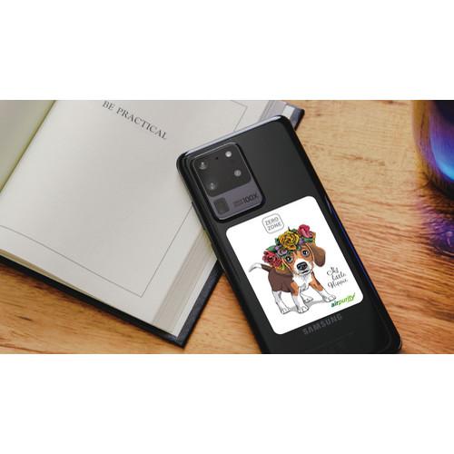 [아이비컴패니] 항균스티커 (스마트폰용) 에어퓨리티 (4종 패키지)