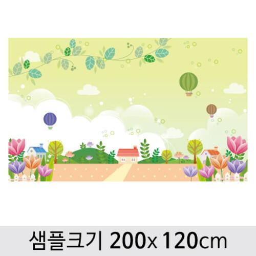 봄배경현수막-142 ( 200 x 120 )