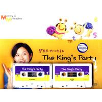 The King`s Party(그림동화책 + 테이프 2개+엄마 도우미책 포함) - 탈무드 영어동화