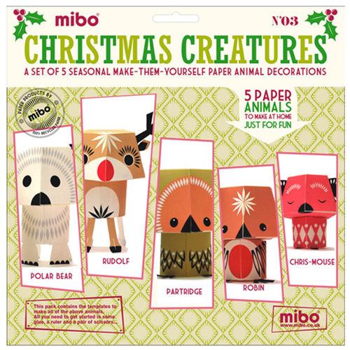 [미보 종이접기]Christmas Creatures -03
