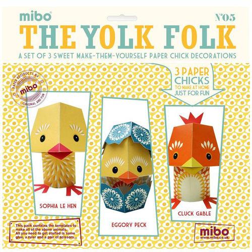[미보 종이접기]The Yolk Folk -05