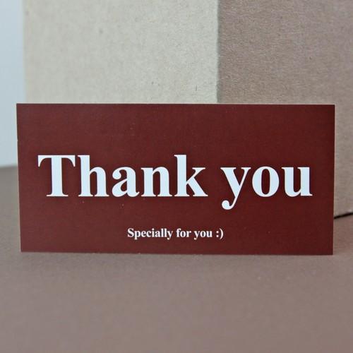 [땡큐 스티커 20매 1세트] - 단체선물/답례품/포장라벨