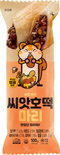 쌀로만든 구운떡 씨앗호떡마리 100g