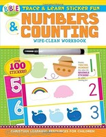 Trace and Learn Sticker Fun: Numbers and Counting (Im Learning the Bible Activity Book)(PB)
