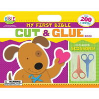 My First Bible Cut and Glue Book (Im Learning the Bible Activity Book) (PB)