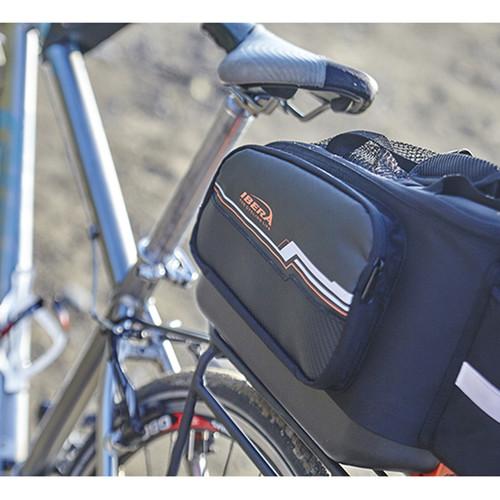 이베라 IB-BA21 자전거 자출 및 여행용 패니어 17L + 짐받이 랙