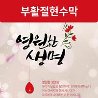 [좋은씨디자인] 부활절 현수막