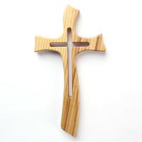 벽걸이십자가 올리브나무십자가 소형