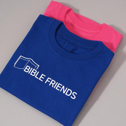 갓피플 반팔 티셔츠 - BIBLE FRIENDS 바이블 프렌즈