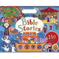 Never-Ending Sticker Fun: Bible Stories (스케치북 사이즈 스티커북)