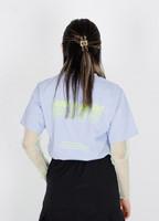 I WANT TO SEE U T-shirts (sky blue)