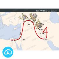 성경 인포그래픽 11 지도로 보는 창세기 by 규장굿즈 / 이메일발송(파일)