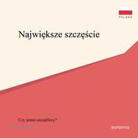 최고의 행복(전도지) - 폴란드어 10개 세트