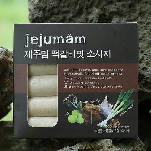 제주맘 떡갈비맛 소시지300g(60g*5개)
