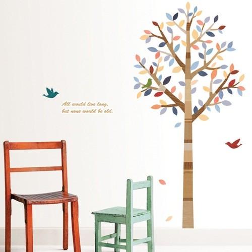 [포인트스티커] PS-60036 포근한나무