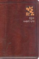새번역 성경 새찬송가 중 합본(색인/최고급신소재/지퍼/다크브라운/RN72B)