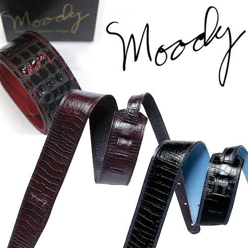 Moody Faux Gator Leather 2.5 Std