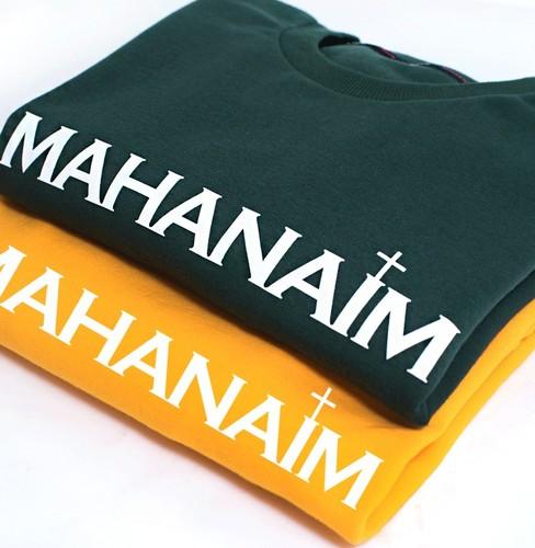 갓피플 맨투맨 티셔츠 - 마하나임 : 하나님의 군사