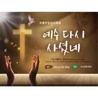교회부활절현수막-190 ( 200 x 150 )
