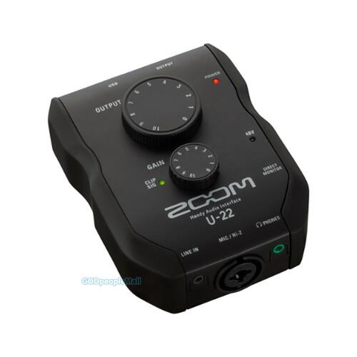 ZOOM U-22 핸디 오디오 인터페이스