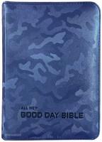 올 뉴 굿데이 성경 초미니 합본 (색인/친환경PU소재/지퍼/카모 네이비)