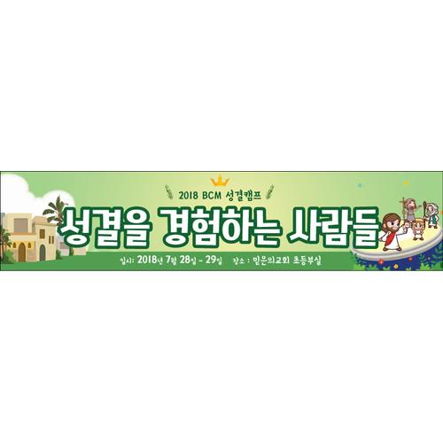 여름성경학교225w(성결교) (500cm x 90cm)