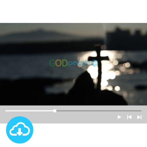 십자가 배경영상 4 by 빛나는시온 / 이메일발송(파일)