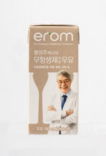 황성주박사의 무항생제인증 우유 190ml (24입)