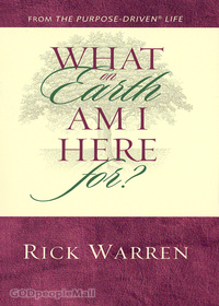 What on Earth Am I Here For? - Rick Warren(소책자)