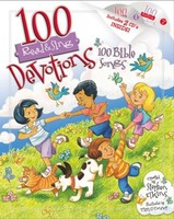 100 Devotions, 100 Bible Songs (Read & Sing) Book and Audio CD