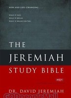 Jeremiah Study Bible: What It Says. What It Means. What It Means for You (NKJV) (HB)