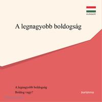 최고의 행복(전도지) - 헝가리어 10개 세트