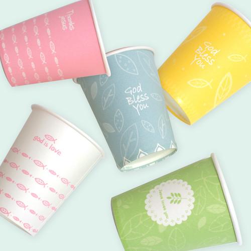음료용 종이컵(25개) (740002)