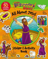 Beginners Bible All About Jesus Sticker and Activity Book (PB)