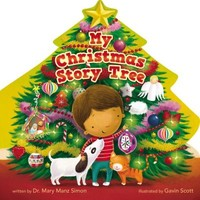 My Christmas Story Tree (Board Book)