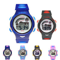 전자 손목시계 12색상 30M 방수 W-F78 (S 사이즈)