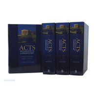 Acts: An Exegetical Commentary, 4 Vols. (4권세트)