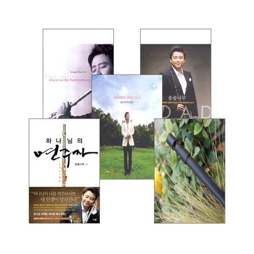 송솔나무의 도서, 음반, 틴휘슬 V2 (C키) 세트(전5종)