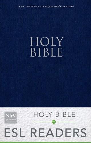 NIrV: Holy Bible for ESL Readers (Paperback, Blue) 소프트커버, 파랑색