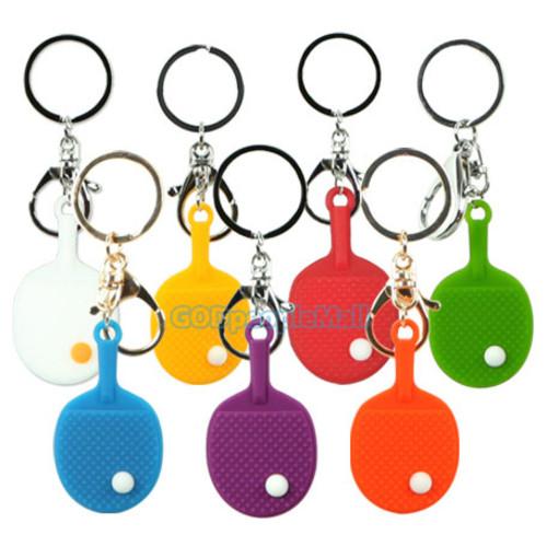 타그로 실리콘 라켓 열쇠고리
