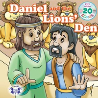 Daniel and the Lions Den Padded Board Book with CD