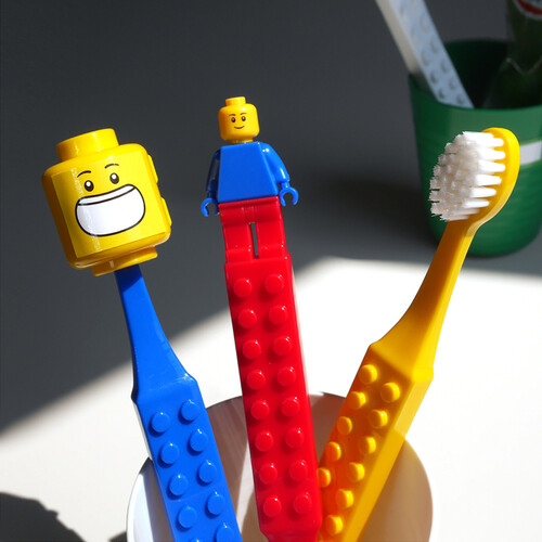 [어린이단체선물]옥스포드 블럭 칫솔컵세트
