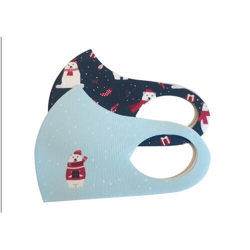프리미엄 기능성 패션 향균 백자마스크 선물세트(2개 1세트)