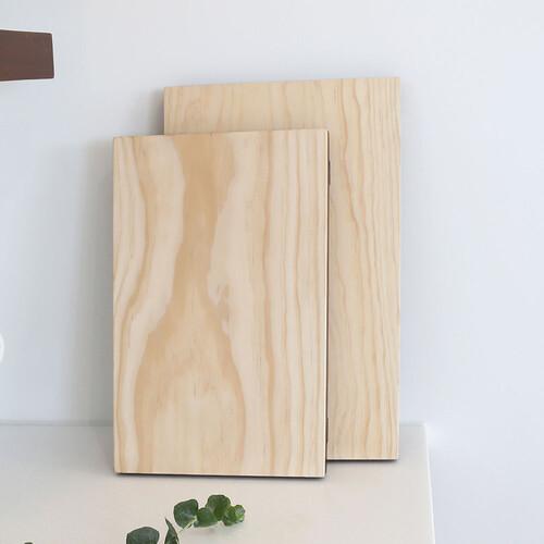 인현공방 천연옻칠 맞춤 나무 도마 -대 IH-OW05L