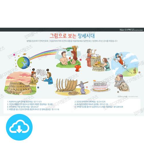 성경 인포그래픽 13 그림으로 보는 창세시대 by 규장굿즈 / 이메일발송(파일)