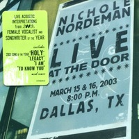 Nichole Nordeman - Live at the door(CD)