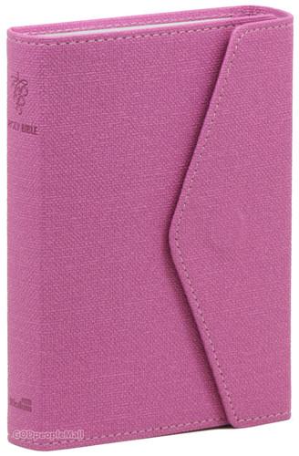 Holy Bible 개역한글판 성경전서 소 단본 (색인/지갑식/핑크/62HB)