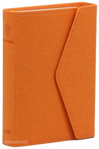 Holy Bible 개역한글판 성경전서 소 단본 (색인/지갑식/오렌지/62HB)