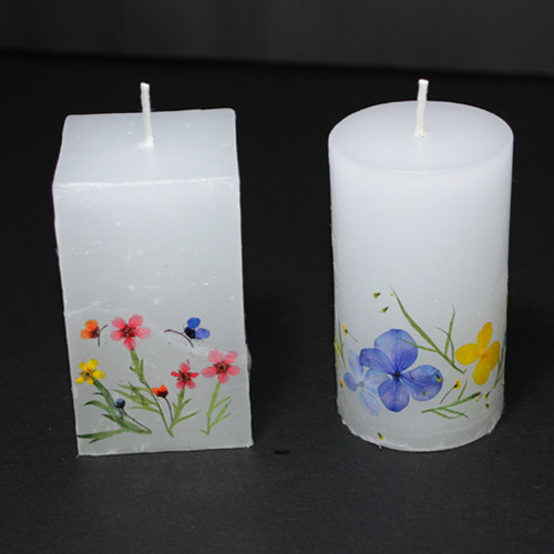 누름꽃 - 꼬마양초 만들기(5개 1set)